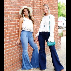 FP Just Float Flare Jeans